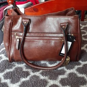 Bueno Brown Handbag
